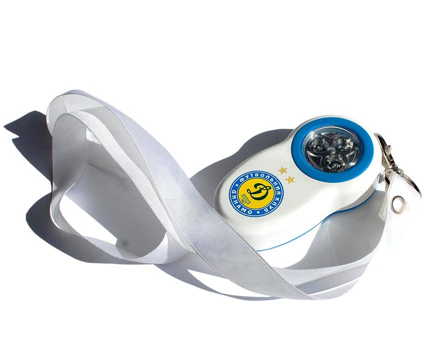 Купить Фонарик сувенирный футбольный с нанесением логотипа