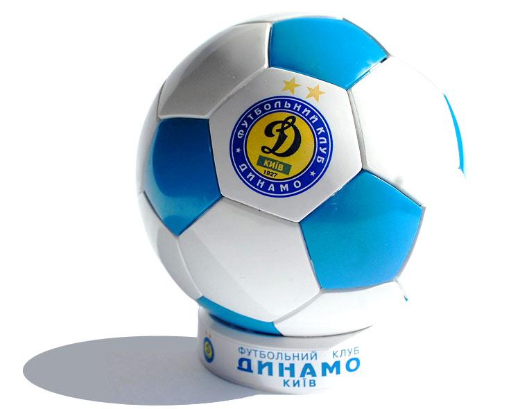 Купить Мячик футбольный пластмассовый сувенирный с нанесением логотипа