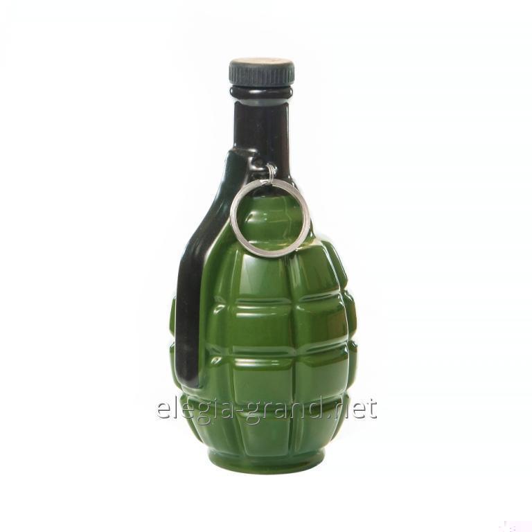 Сувенирная керамическая бутылка для водки Граната