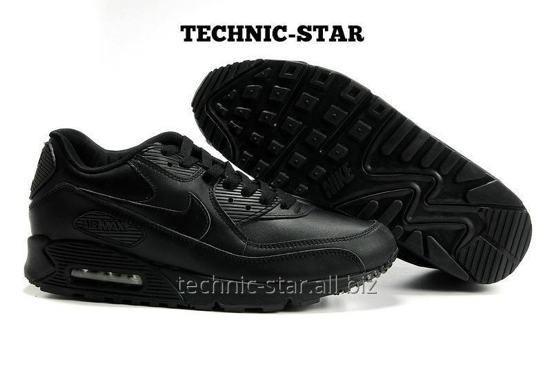 Черные кожаные кроссовки Nike Air Max VT 90 купить в Харькове 3a3d4c3b4fc