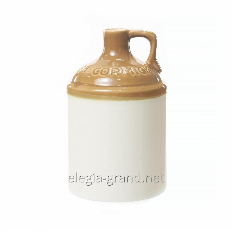 Сувенирная керамическая бутылка для виски