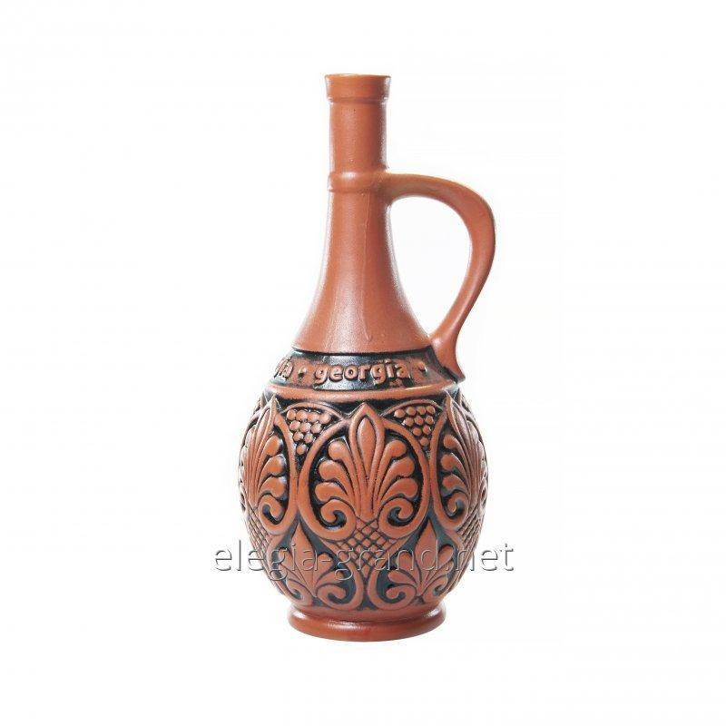 "Сувенирная бутылка из керамики ""Грузия"""