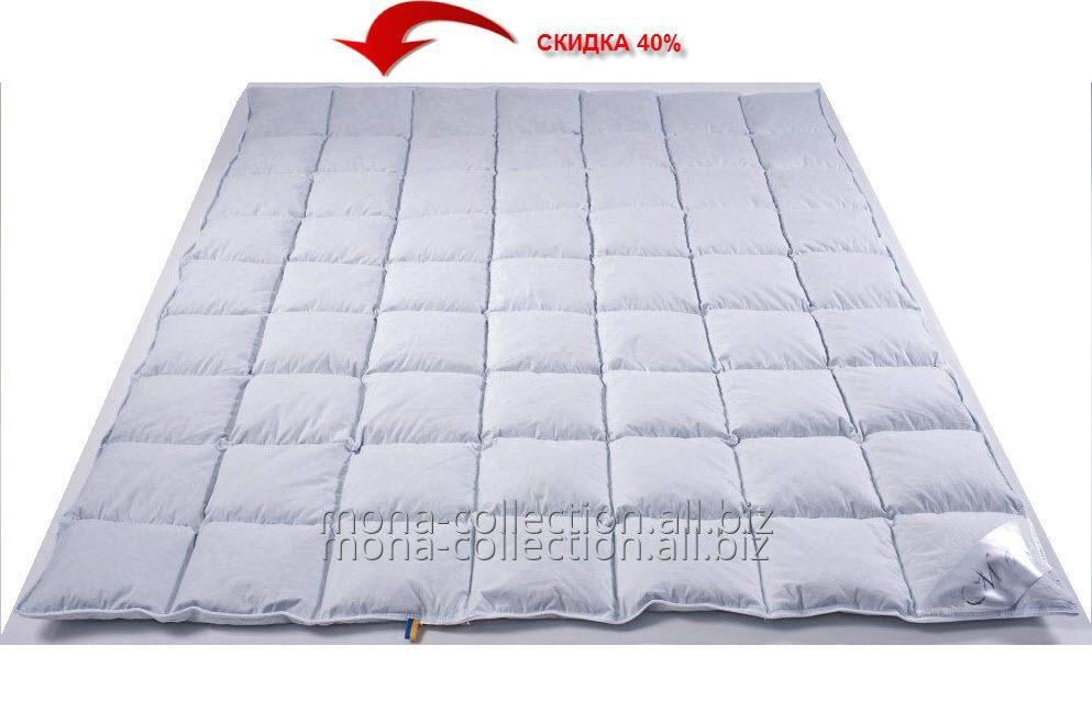 Одеяло полуторное Евро White Premium Collection 155х 215 (80% белый гусиный пух)