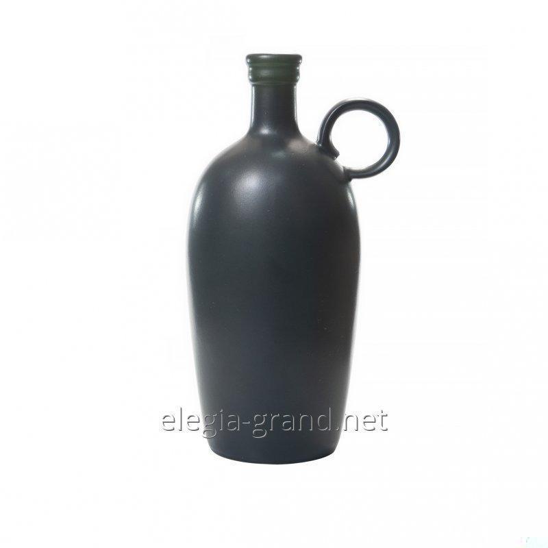 """Sticla ceramica Souvenir cu vin 0,75; 1L """"Original"""""""