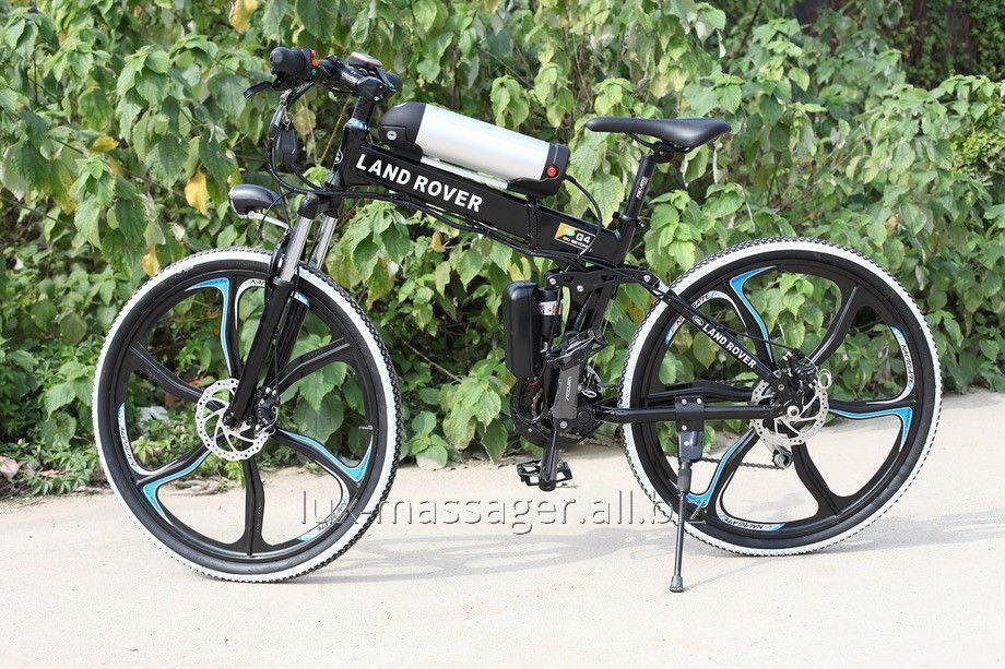 Электровелосипед Land Rover Electric Rear Drive Черный