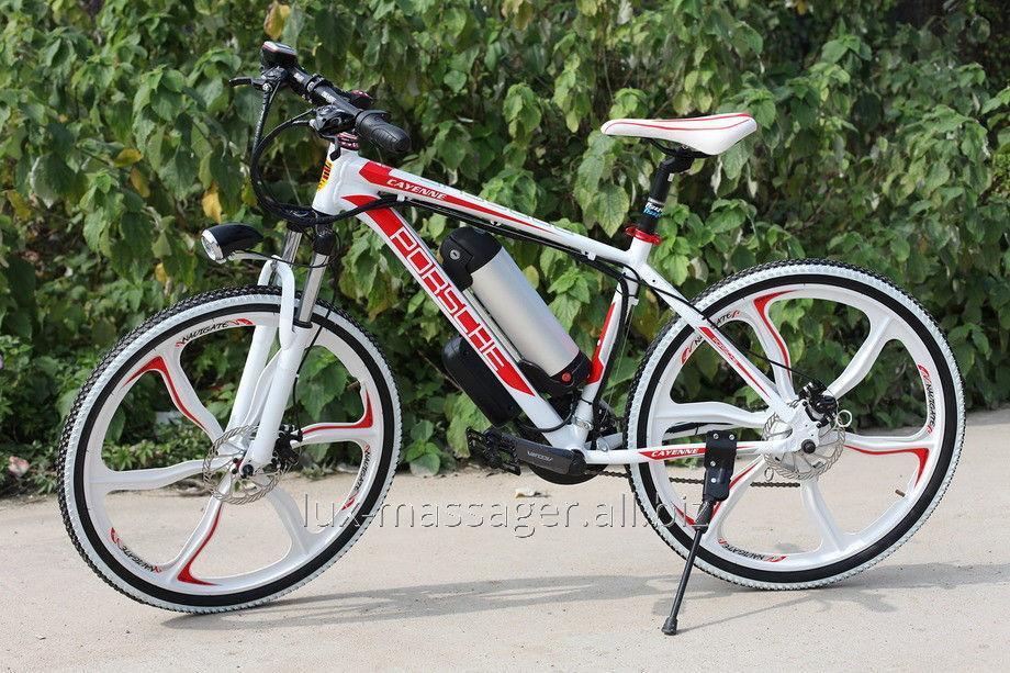 Электровелосипед Porshe Electrobike RD Белый