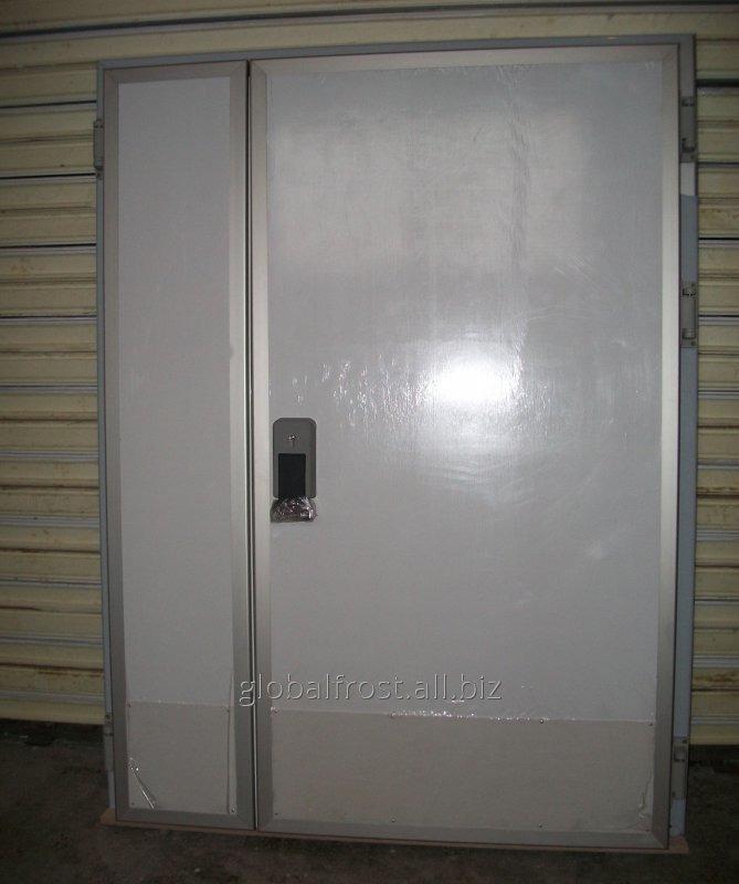 Купить Дверь холодильная двустворчатая 2200х2400