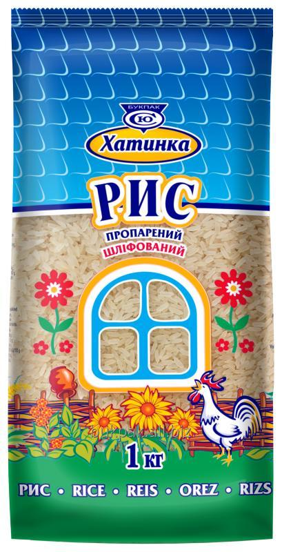 Buy Rice the long-grain steamed polished Hatinka