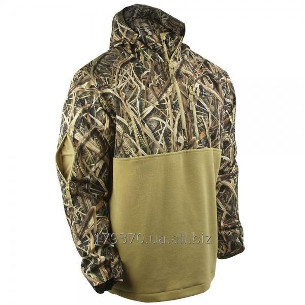 Пуловер охотничий Rocky Waterfowler Hooded 1/2-Fleece Jacket