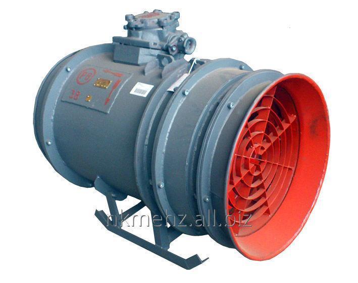 Вентилятор шахтный местного проветривания - осевой, одноступенчатый, взрывозащищенного исполнения