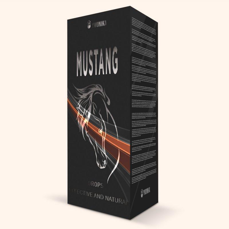 Капли для повышения потенции Mustang мустанг
