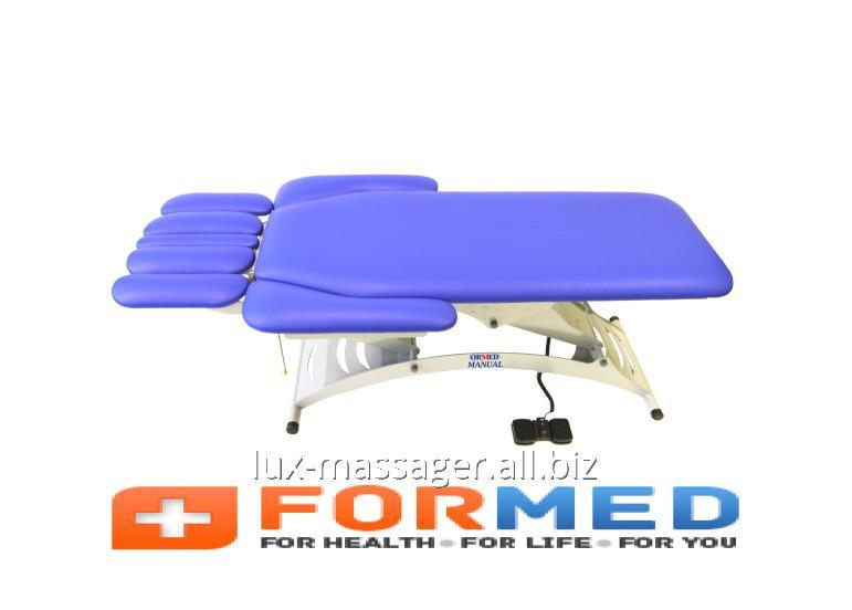 Стационарный массажный стол Ормед-мануал (модель 103), арт. F5238