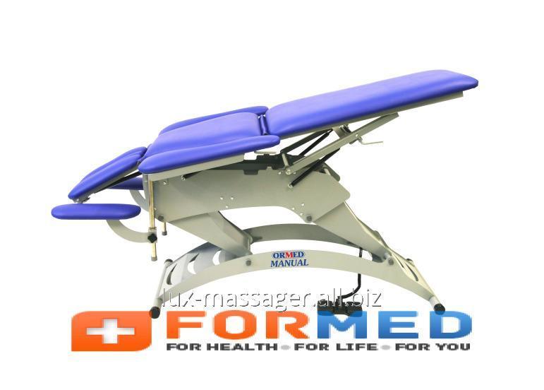 Стационарный массажный стол Ормед-мануал (модель 303), арт. F5239