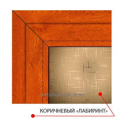 Купить Декоративное стекло Steko Коричневый лабиринт