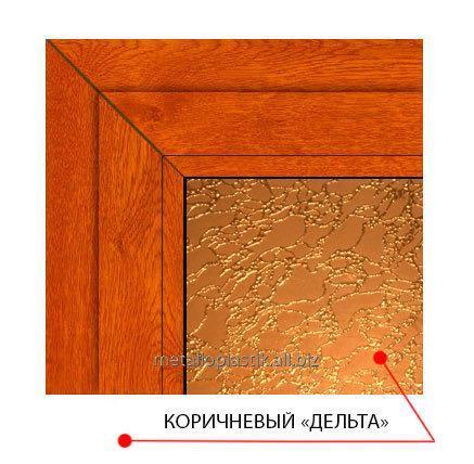 Купить Декоративное стекло Steko Коричневый дельта