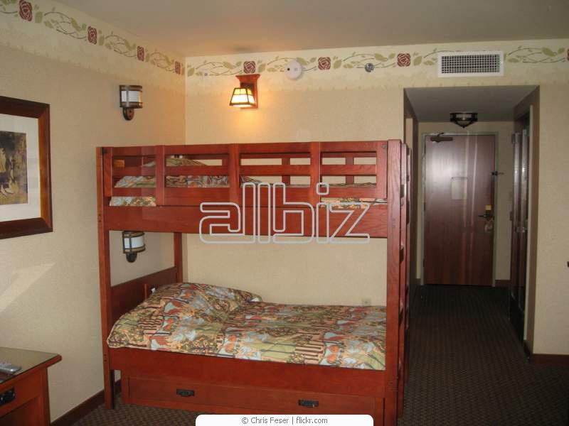 Дизайн интерьера с двухъярусной кроватью | 600x800