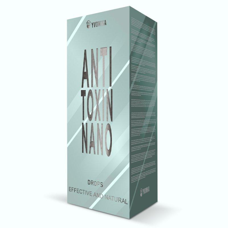 Anti Toxin nano (Анти Токсин нано) - капли от грибка