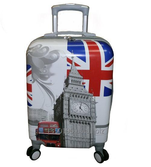 Малый пластиковый чемодан на четырёх колёсах купить в Одессе ff834854637