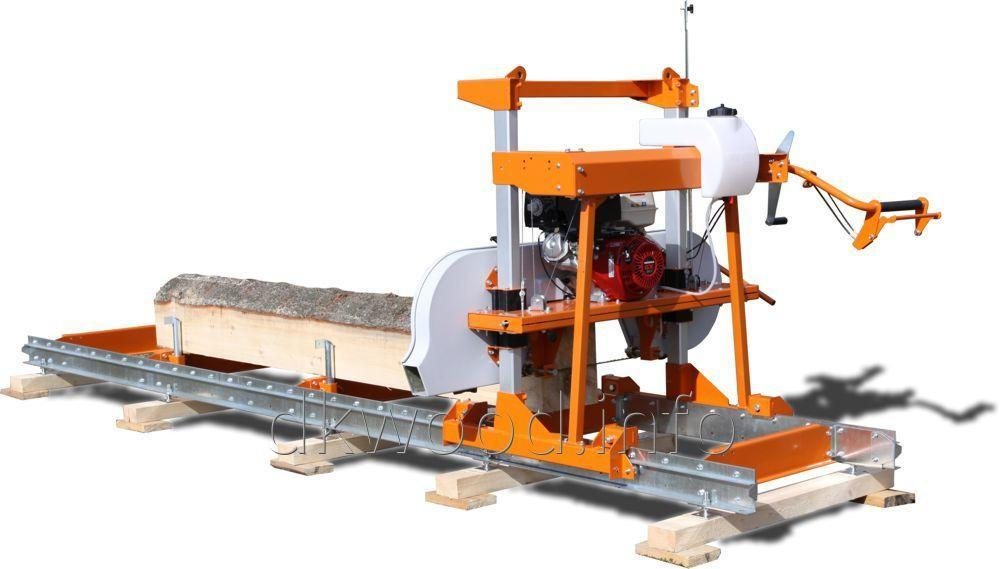 Trailer Sub Frame Support Jack System For The Lumbermate Lm29 Portable Sawmill
