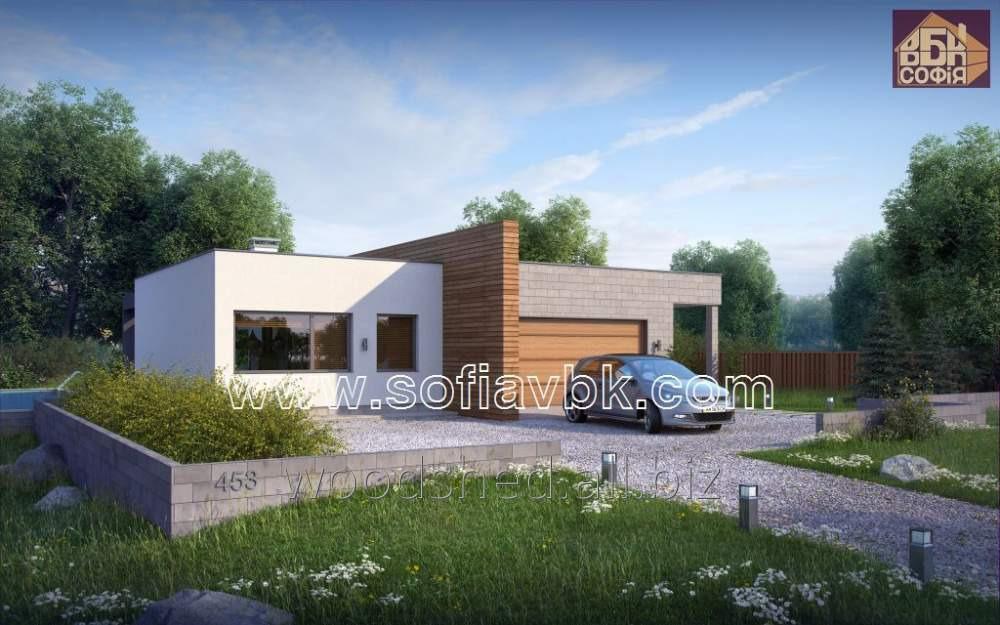 Проект дома из бруса S6 203,34 М2