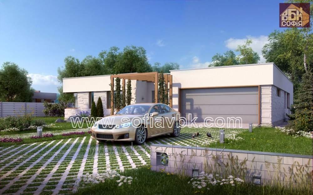 Проект дома из бруса S7 255,40 М2