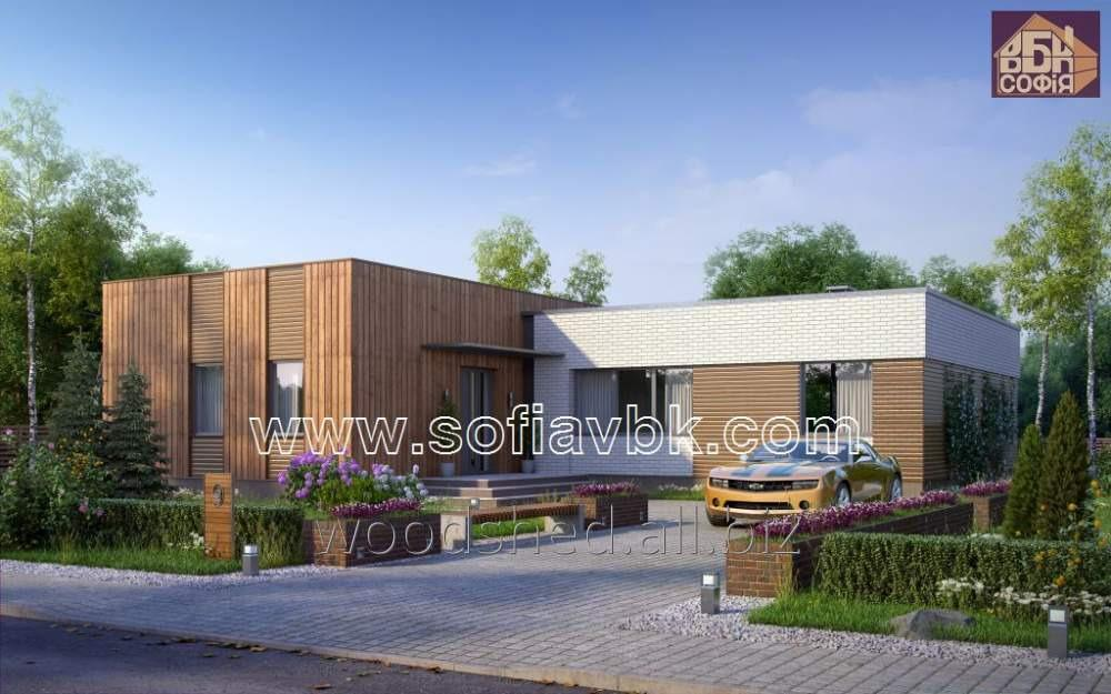 Проект дома из бруса S9 223,60 М2