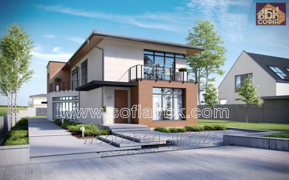 Проект дома из бруса S11 219,6 М2