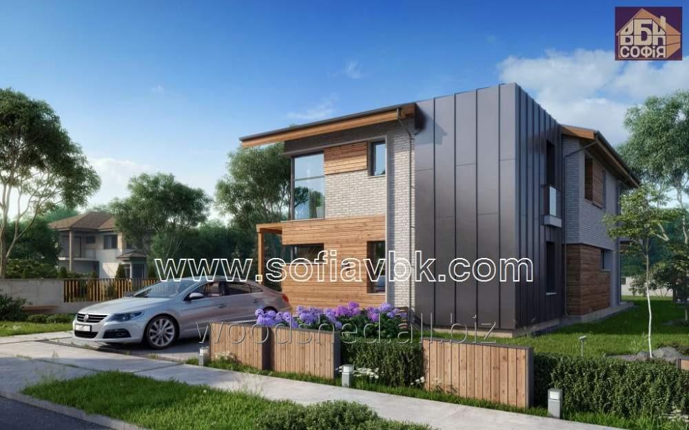 Проект дома из бруса S13 192,15 М2