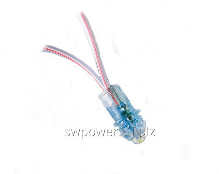 Buy Light-emitting diodes of fast installation white (pixels) 12B, 9 MM