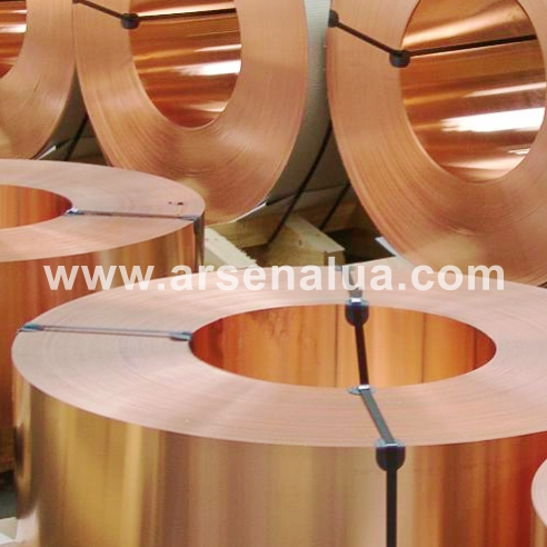 Buy Tapes copper M1, Sq.m of import production in accordance with GOST 1173-2006