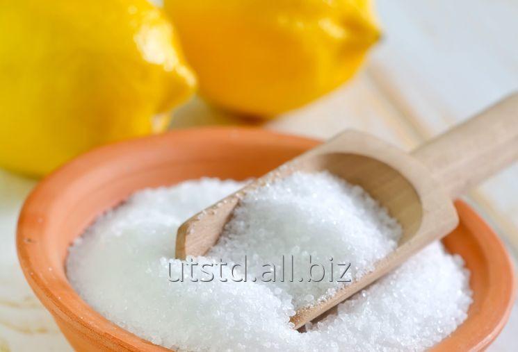 El ácido de limón