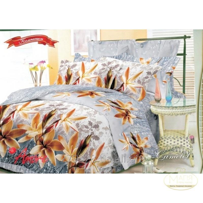Комплект постельного белья Amore Camelot ранфорс, код: 119542
