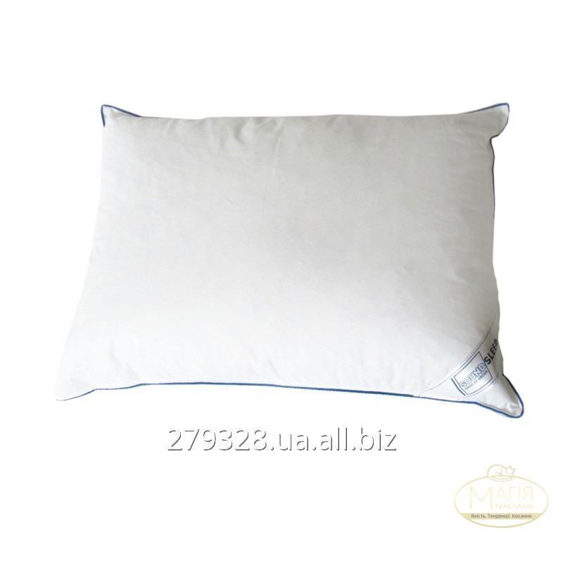 Подушка 5% пуха SoundSleep Relax белая, код: 103723