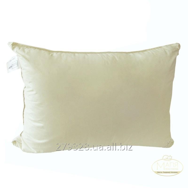 Подушка 50% пуха SoundSleep Calm оливковая, код: 103753