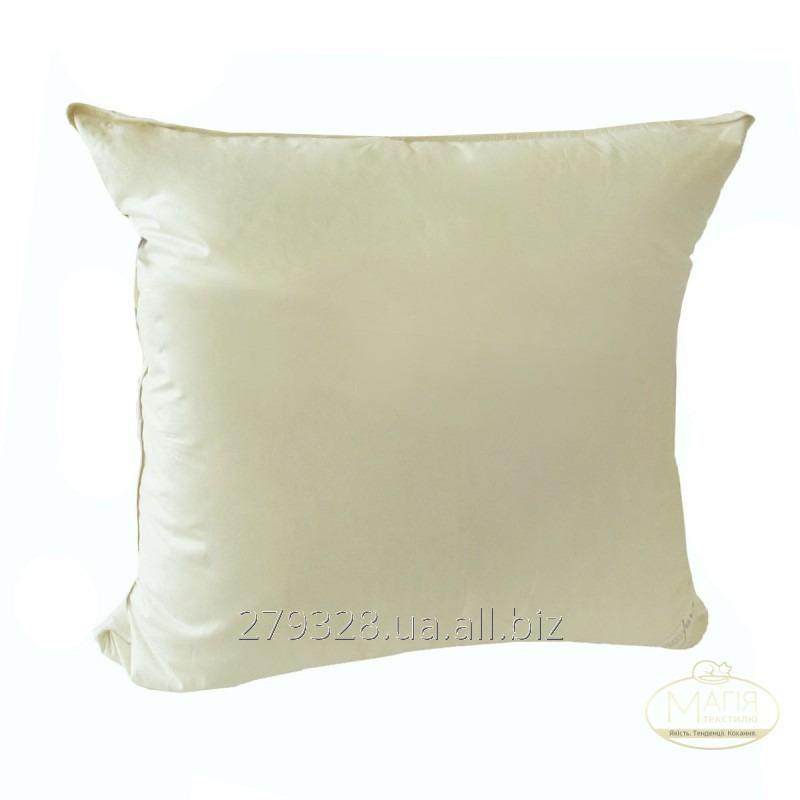 Подушка 50% пуха SoundSleep Calm оливковая, код: 103755