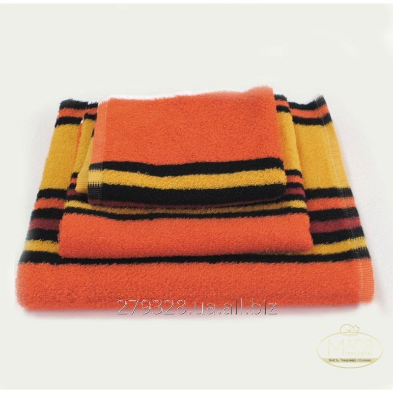 Полотенце махровое SoundSleep оранжевое, код: 133023