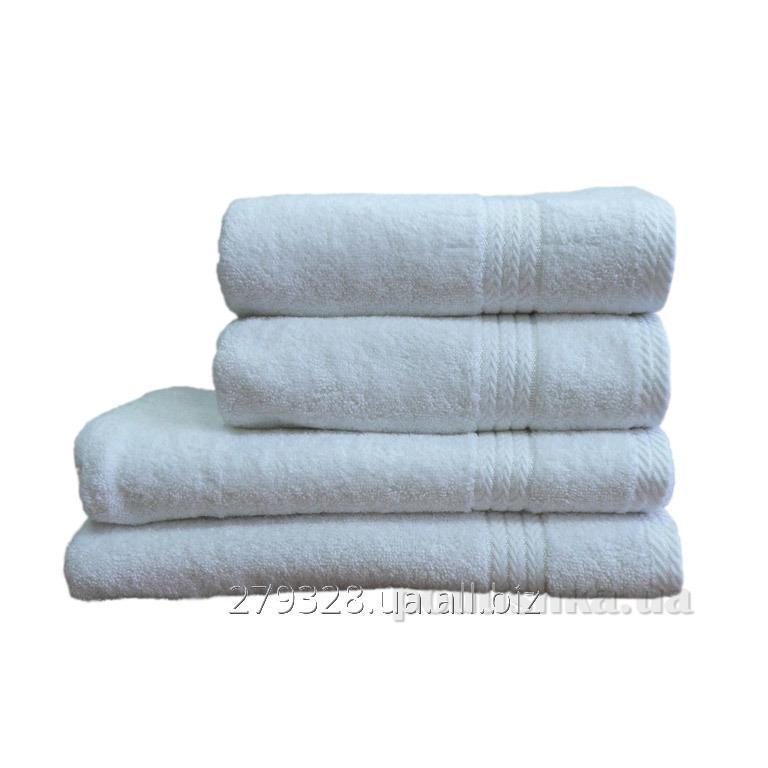 Полотенце махровое Home line Пакистан отельное белое, код: 64656