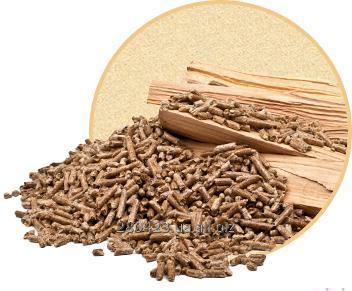 Пеллеты древесные 8 мм в биг-бегах