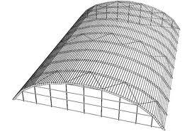 Ангар из легких металлоконструкций