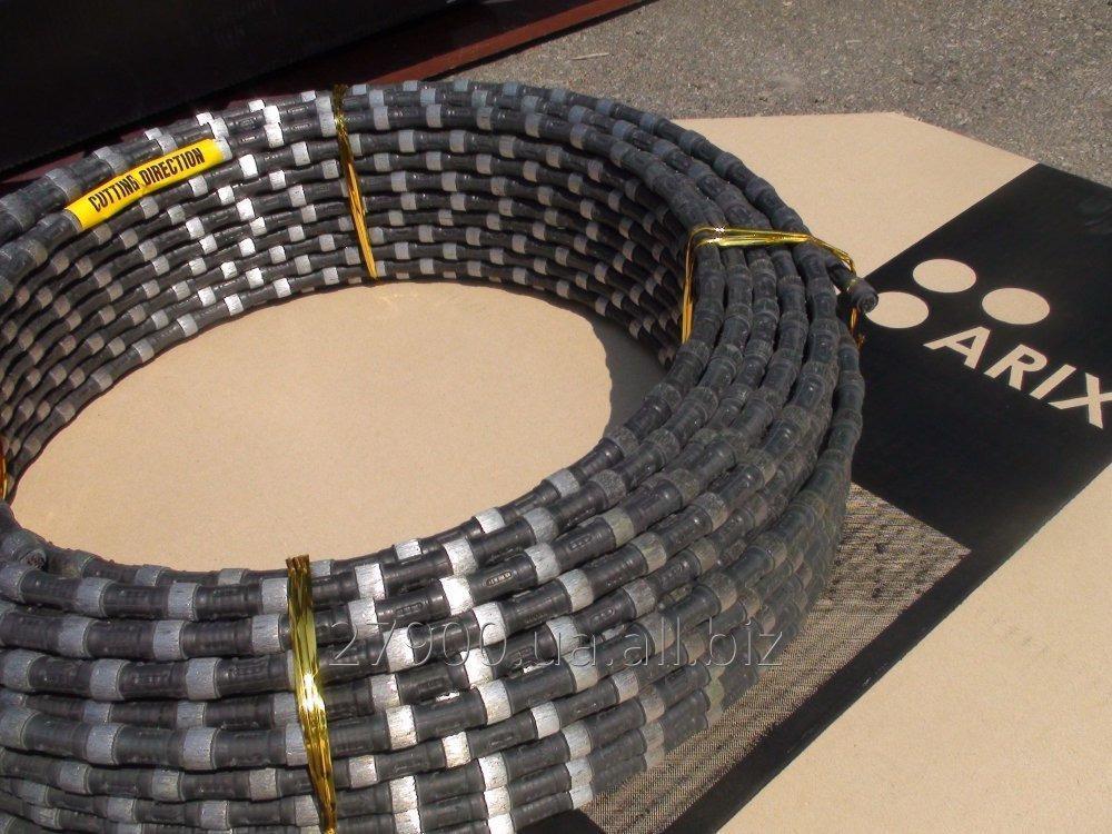 Купить Алмазный канат ARIX 10,5мм - 40 Bids на 1 м/п