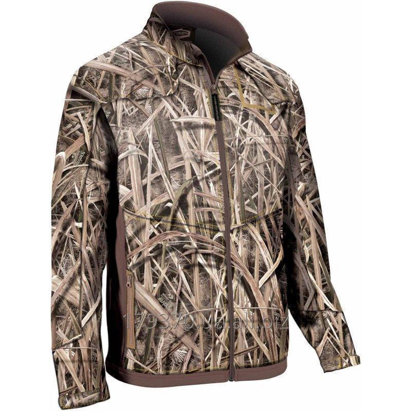 Куртка для охоты демисезонная Yukon Gear Mossy Oak Whistling Wings Full Zip Fleece Midlayer