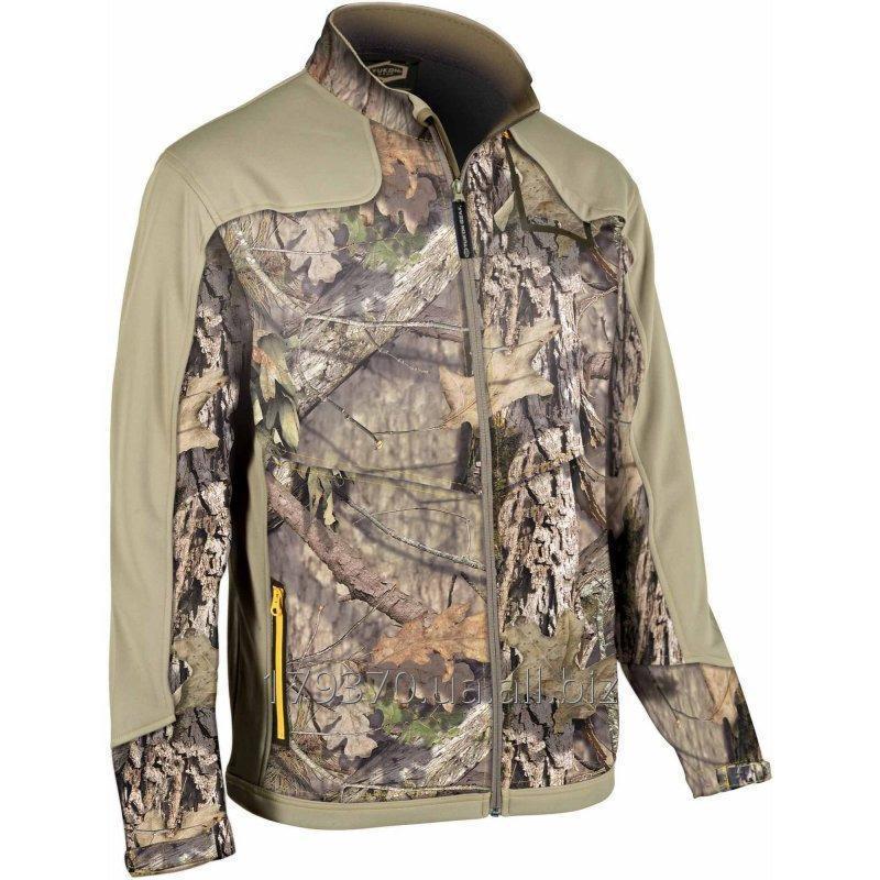 Jacket for hunting demi-season Yukon Gear Mossy Oak Whistling Wings Full Zip Fleece Midlayer