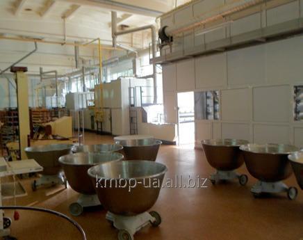 Купить Поточно-механизированная линия по производству ржано-пшеничных подовых сортов хлеба