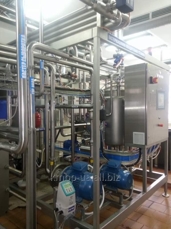 Купить Пастеризационно-охладительная установка для приемного участка молока