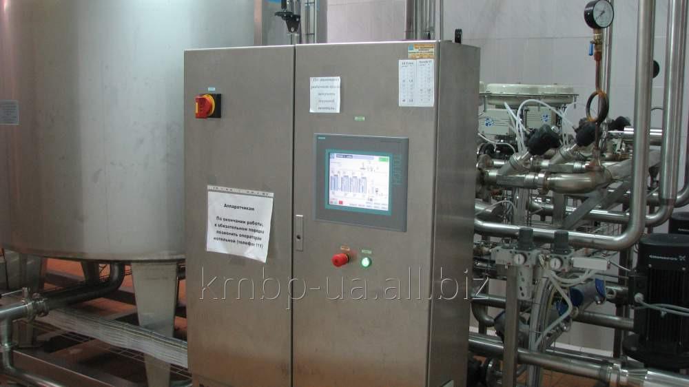 Купить CIP-станция для безразборной автоматизированной мойки распылительных сушильных установок