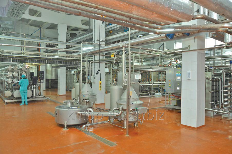 Купить Линия по производству сухого молочно-жирового концентрата