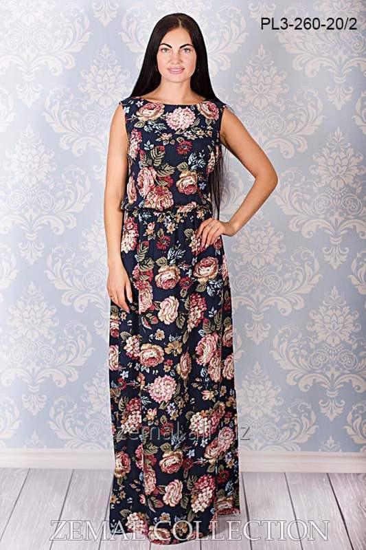 Платье в пол PL3-260