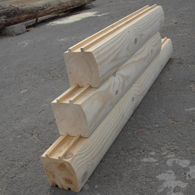 Дома деревянные из профилированного бруса