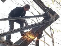 Демонтаж старых металлоконструкций