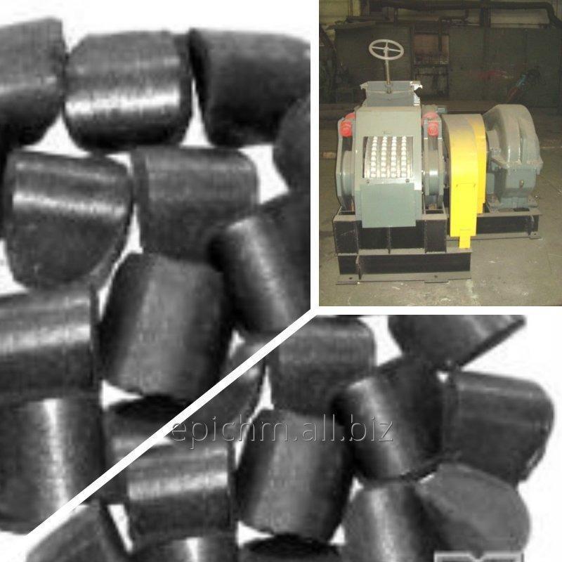 Пресс валковый для брикетирования древесного угля. ПБВ-24М